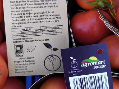 Conveni de col·laboració amb Agromart per la venda de varietats locals