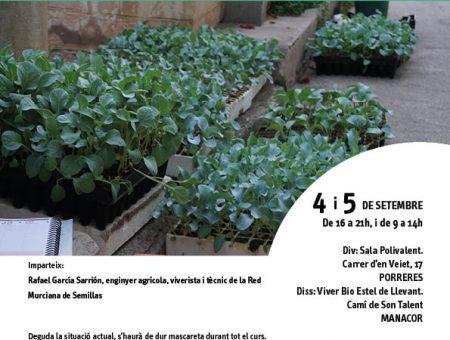 """Curs """"Llavor i planter de varietats locals ecològiques"""""""