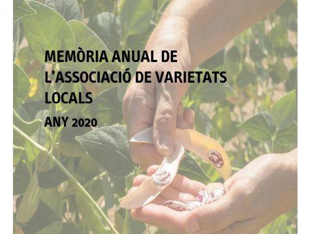 Memòria anual de l'AVL 2020