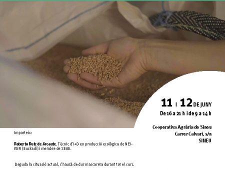 """Curs """"Prevenció de malalties i plagues de cereals i gestió de la seva conservació eco"""""""