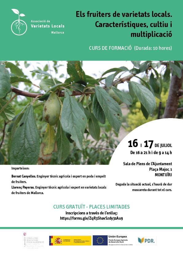 Els fruiters de varietats locals. Característiques, cultiu i multiplicació