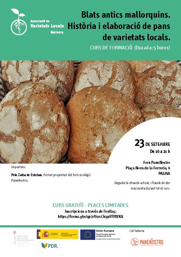 Blats antics mallorquins. Història i elaboració de pans de varietats locals.