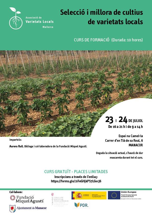 Seleccio i millora de cultius de varietats locals